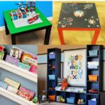 Find playroom inspiration for organizing all your kid's toys, books, and art.