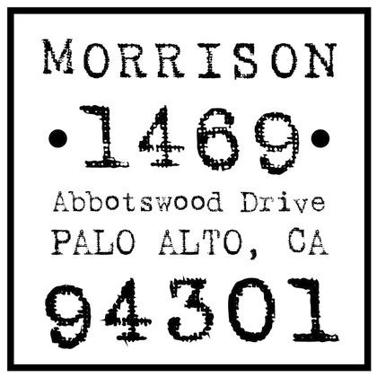 tiny prints address stamp