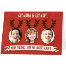 treat holiday card