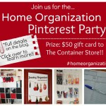 #HomeOrganization {Pinterest Party}