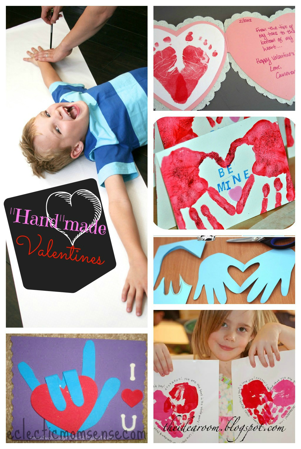 Handmade Valentines Ideas via @eclecticmommy - eclecticmomsense.com