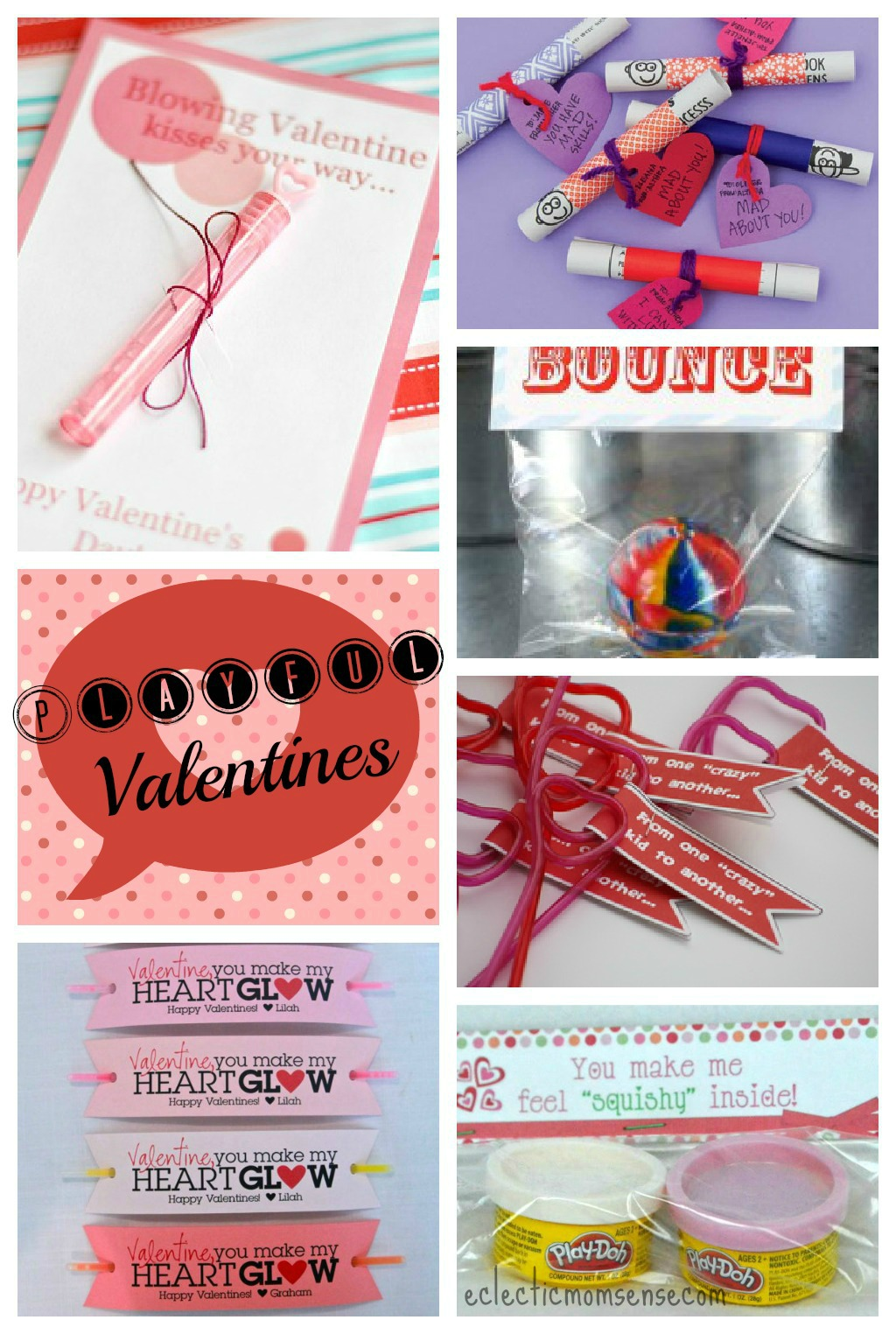 Valentines Ideas with toys via @eclecticmommy - eclecticmomsense.com