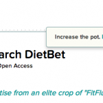 Betting Against Myself for More than Just a Chance at $10K: DietBet