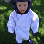 {Wordless Wednesday} Karate: First Sport, First Uniform