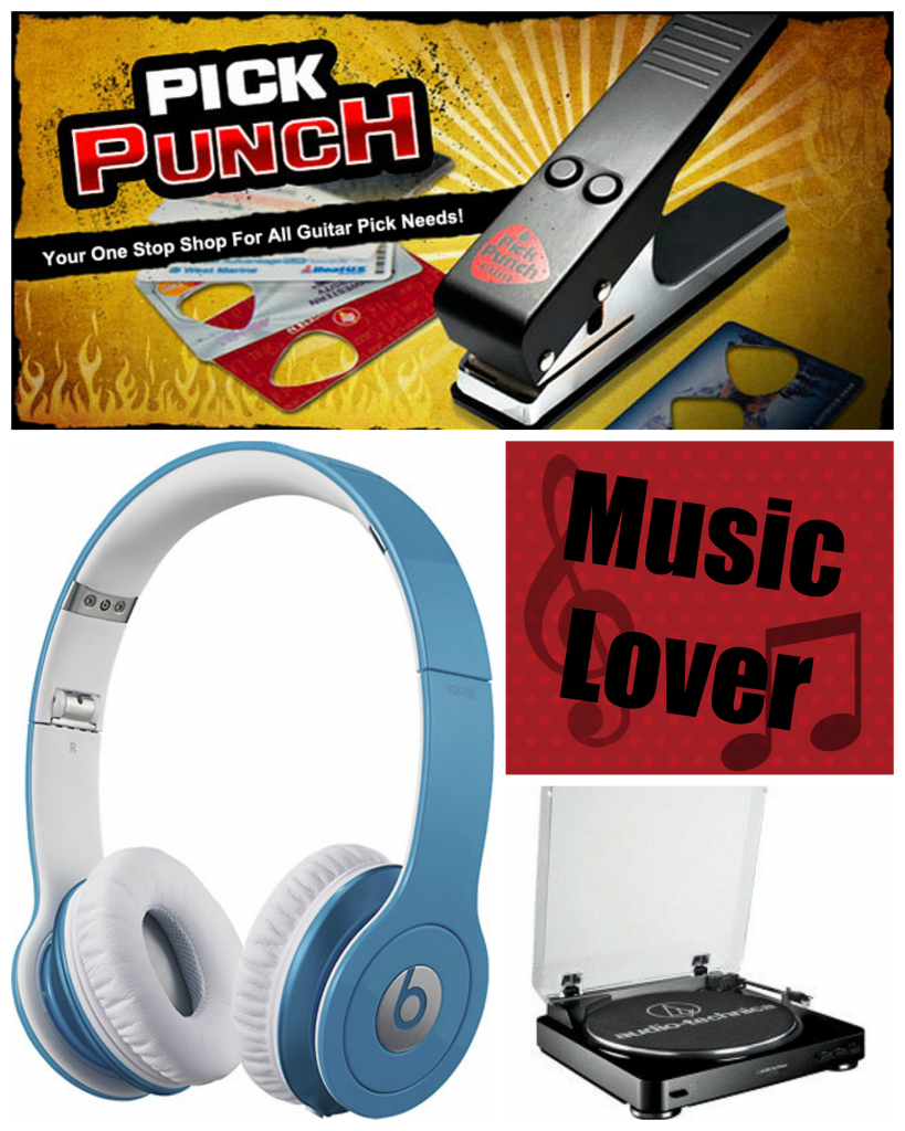 Unique gifts for the music minded