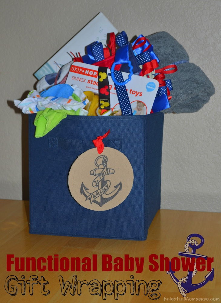 Functional Baby Shower Gift Wrapping- Eclectic Momsense