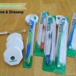 Put on a #FABsmile with FlossAndBrush.com Review and Giveaway