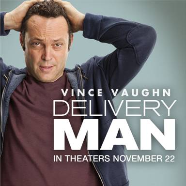 Exclusive trailer for new film Delivery Man with Vince Vaughn.
