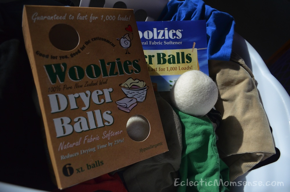 Woolzies Dryer Balls- The All Natural Dryer Ball Set