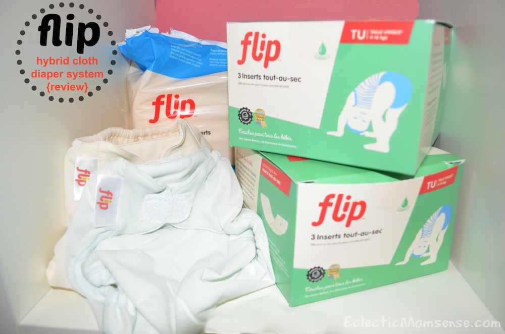 Flip Hybrid Cloth Diaper System {review}