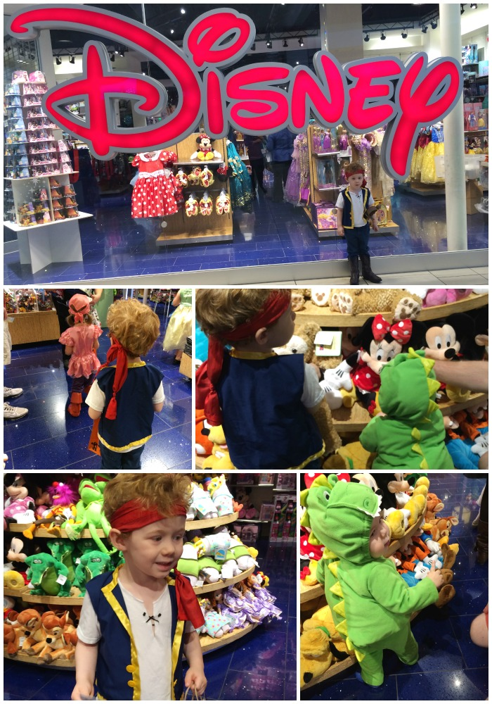 Disney store Halloween event