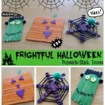 Halloween Popsicle Stick Icons