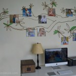 DIY Photo Canvas Art & Family Tree