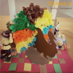 Tissue Turkey Centerpiece