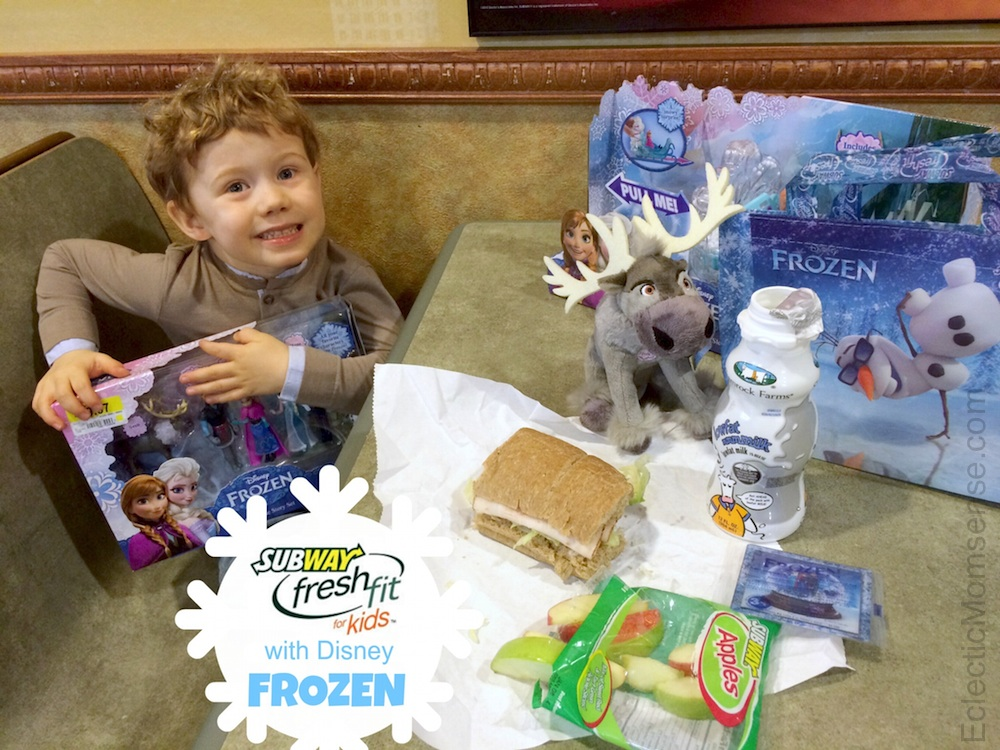 Subway Fresh Fit for Kids with Disney FROZEN #shop