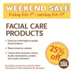 Whole Foods Market 3- Day Facial Care Sale