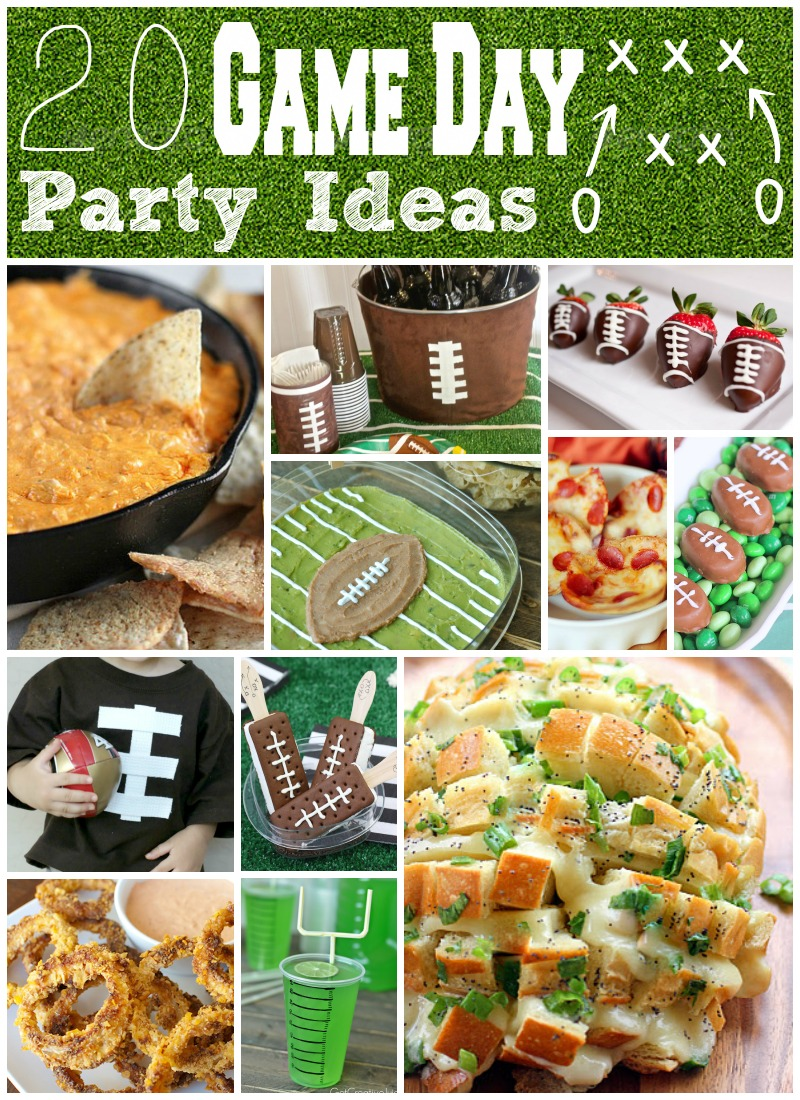20 Game Day Ideas