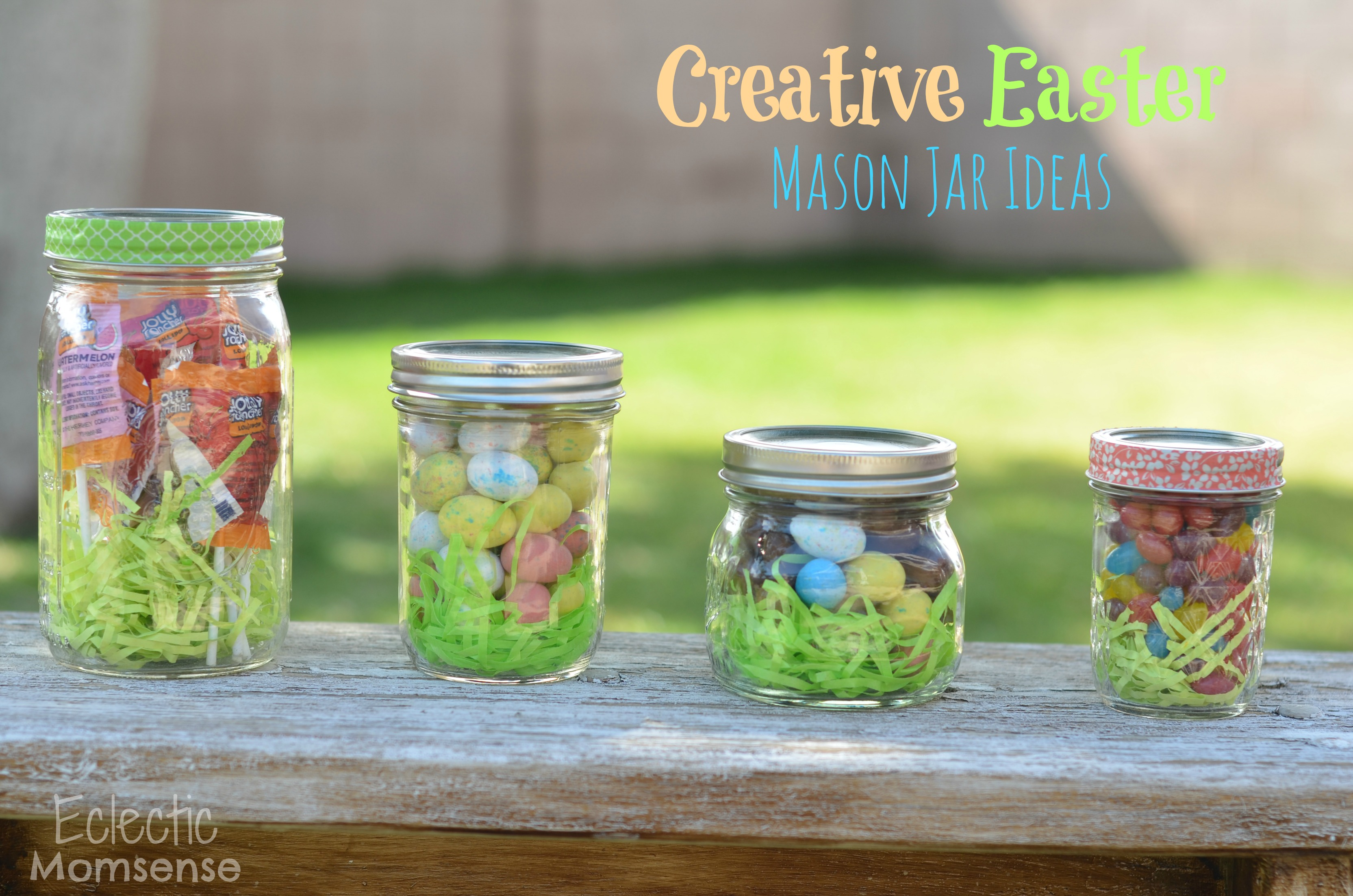Creative easter mason jar ideas a giveaway eclectic momsense hersheys bunnytrail easter traditions negle Gallery