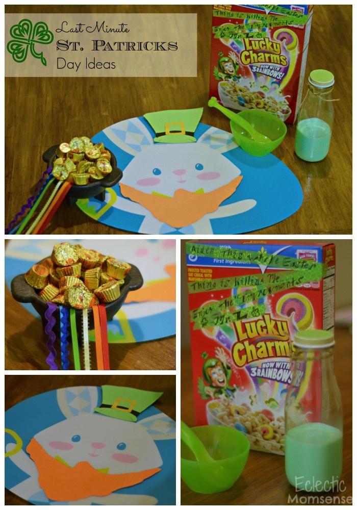 last minute St. Patricks Day idea