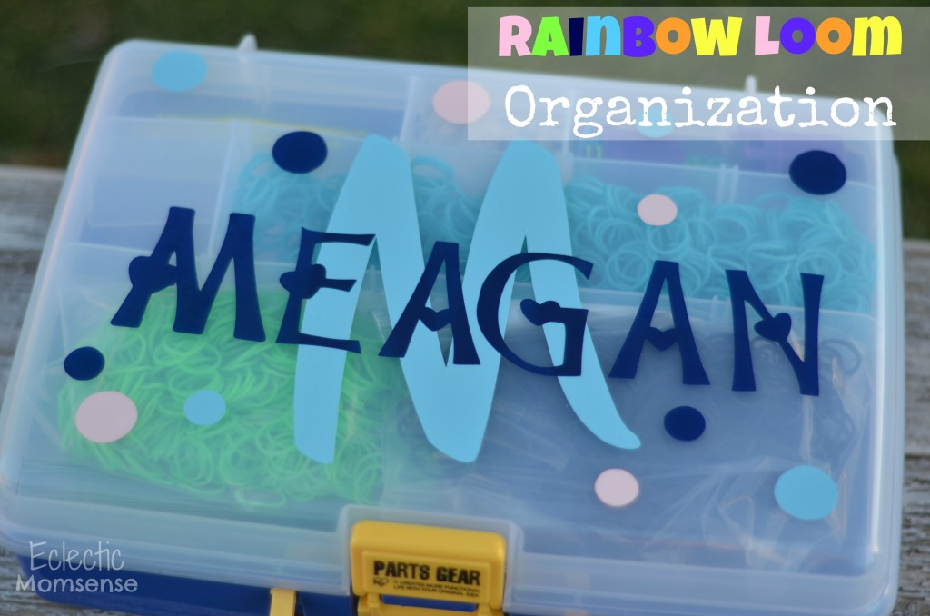 rainbow loom organization