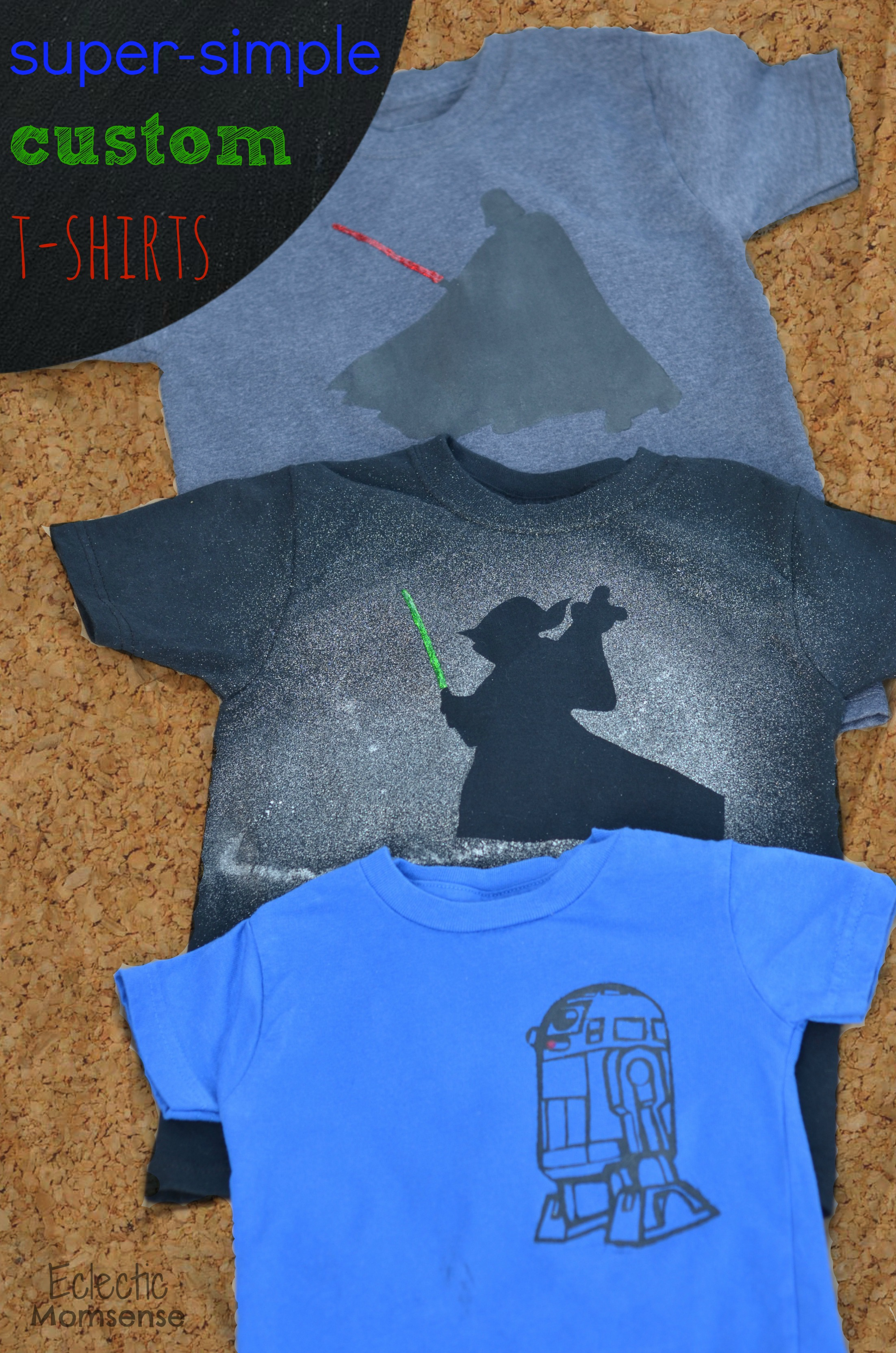super simple custom star wars t shirts eclectic momsense