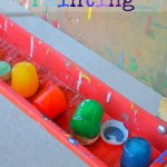Ice Cube Painting, kids craft, kid art, summer fun