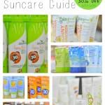 Summer Sunscreen Guide