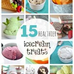 15 Healthier Homemade Ice Cream Treats