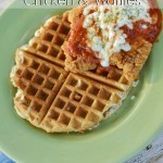 Parmesan Chicken & Waffles