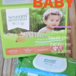 Travel Diaper Bag Essentials:  Seventh Generation Baby