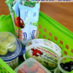 Healthy Snack Bin perfect for the independent kid. #FreshAndEasy