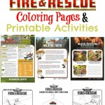 Disney Planes: Fire & Rescue Coloring Pages & Printable Activities
