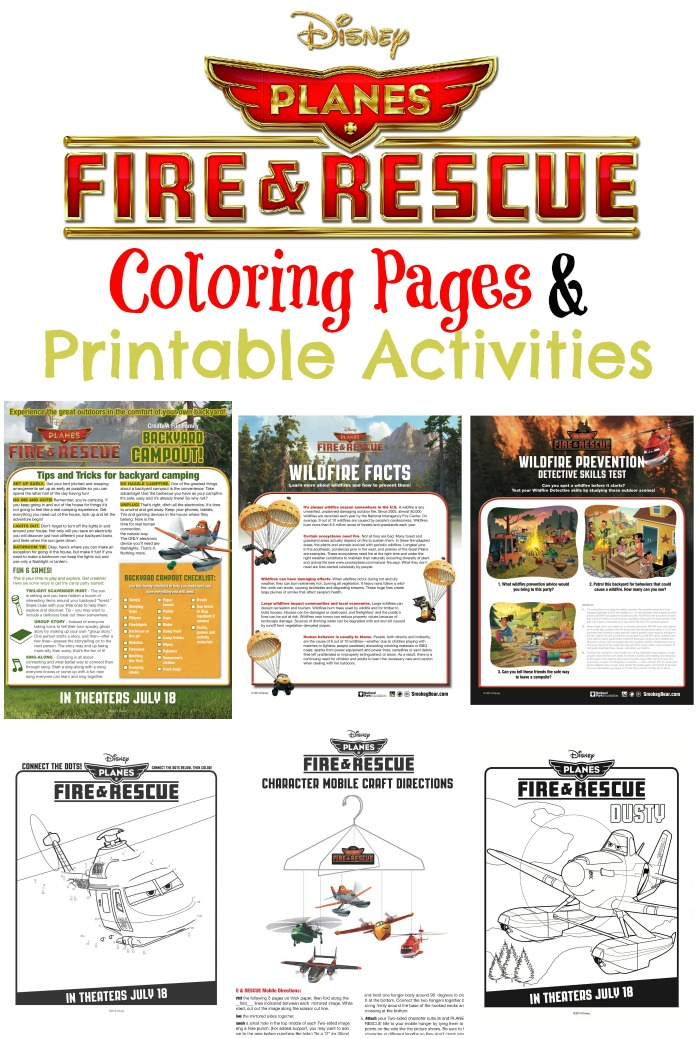Disney Planes Fire Amp Rescue Coloring Pages Amp Printable