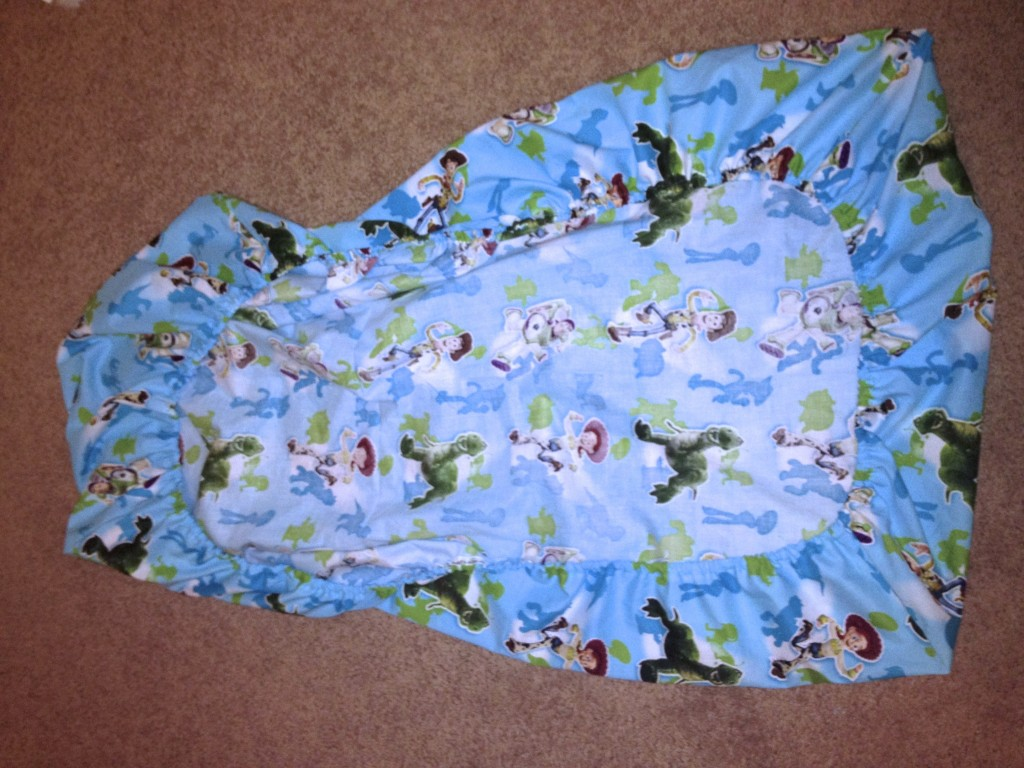 Handmade Crib Sheet