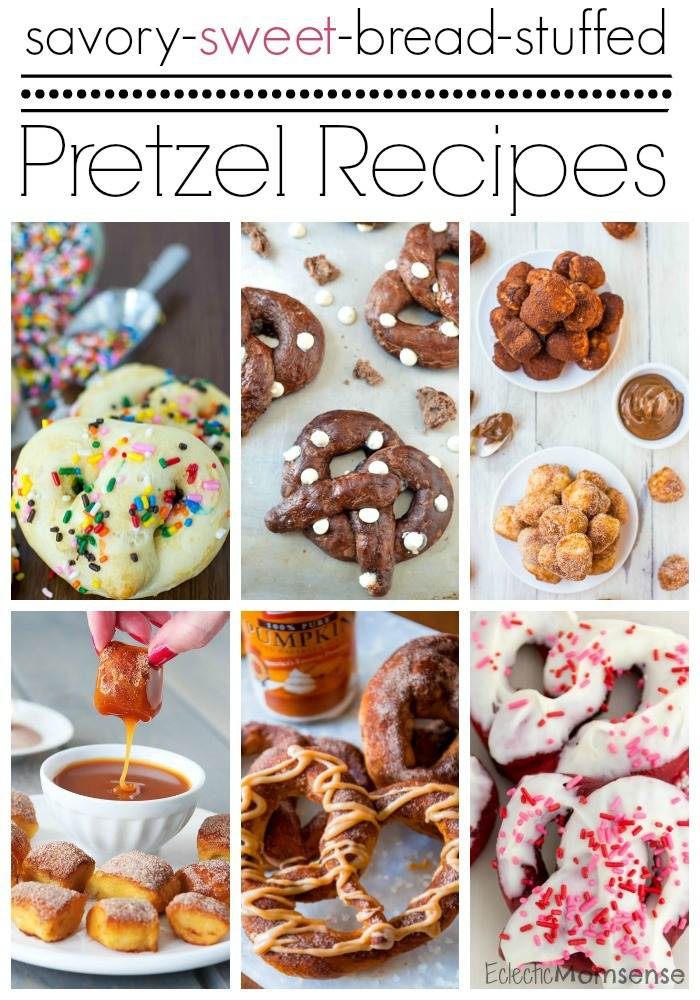 Sweet Pretzel Recipes