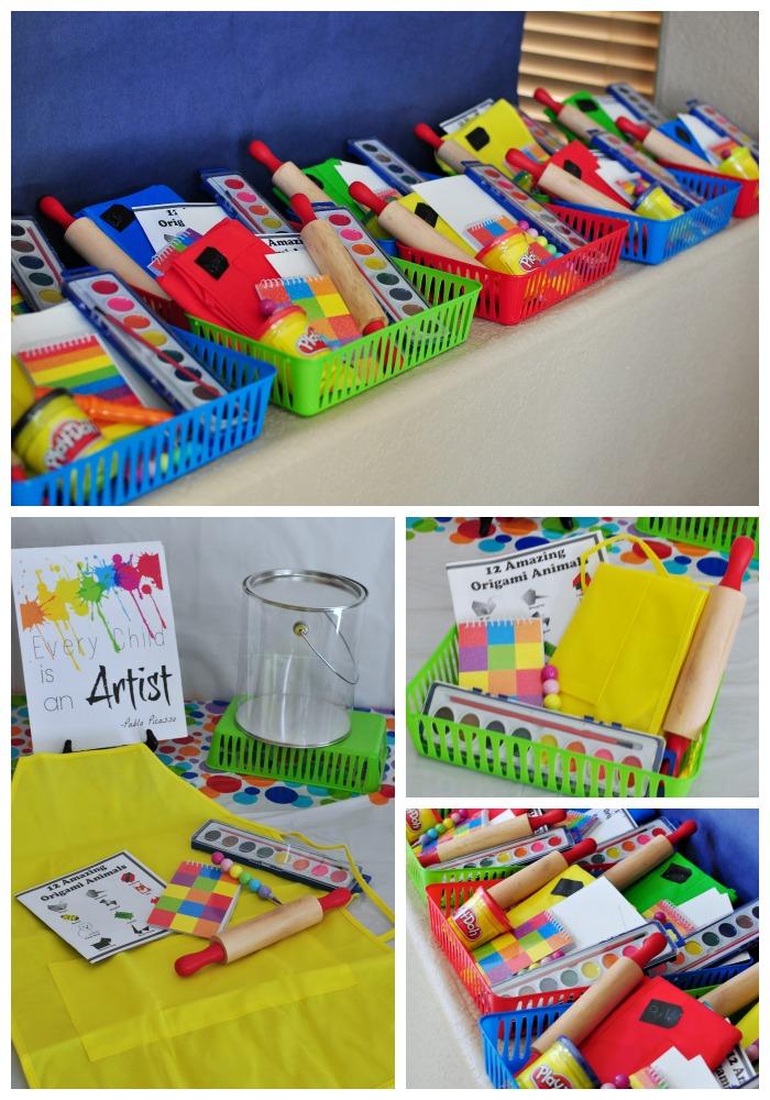 art party favors