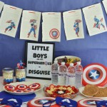 Captain America Party on a Budget