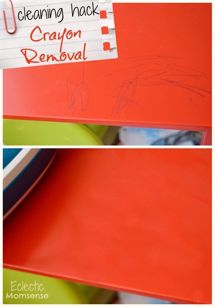 Crayon Removal