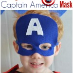 Felt Captain America Mask