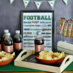 Get Ready for Game Day: Game Time Snack Station