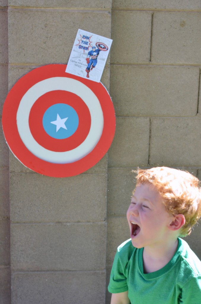 Pin the Star on Captain America- Superheroes, M&M's, Captain America, M&M recipes, #shop, #HeroesEatMMs