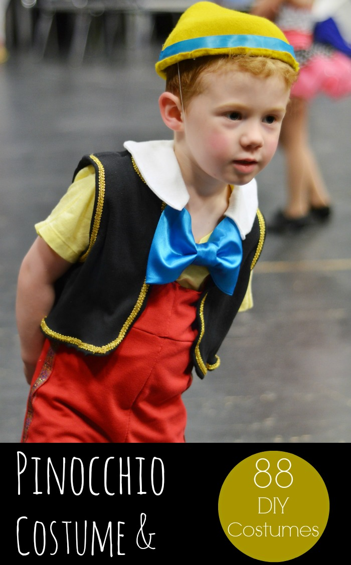 Pinocchio costume plus 88 other diy halloween costumes eclectic diy disney pinocchio costume maxwellsz
