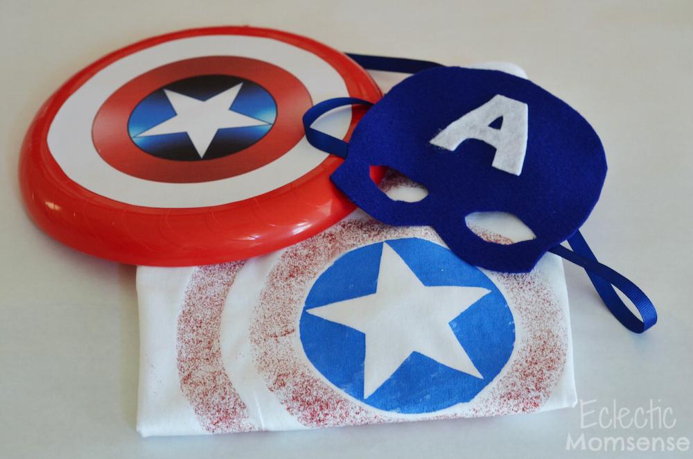 captain america gear