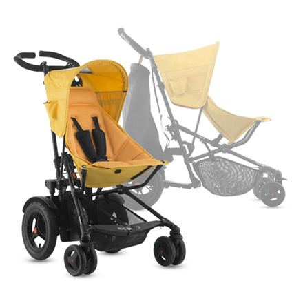 Joovy Too Fold- single, double, or cart. This stroller does everything. #ad
