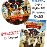 Beethoven's Treasure Tail- DVD/Blu-Ray/Digital {giveaway}