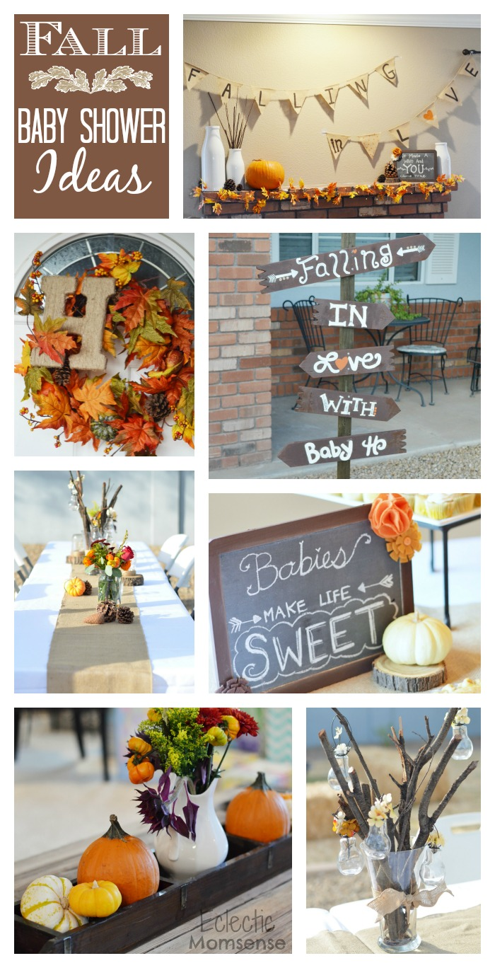 fall baby shower