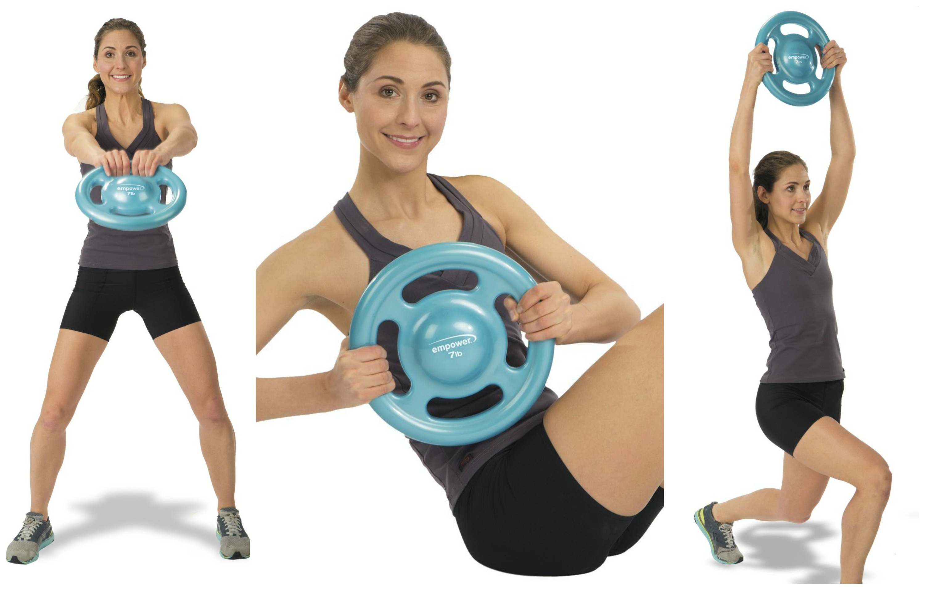Fusion Fit Disc- Part Kettle Bell, Part Medicine Ball, Part Dumbell #ad