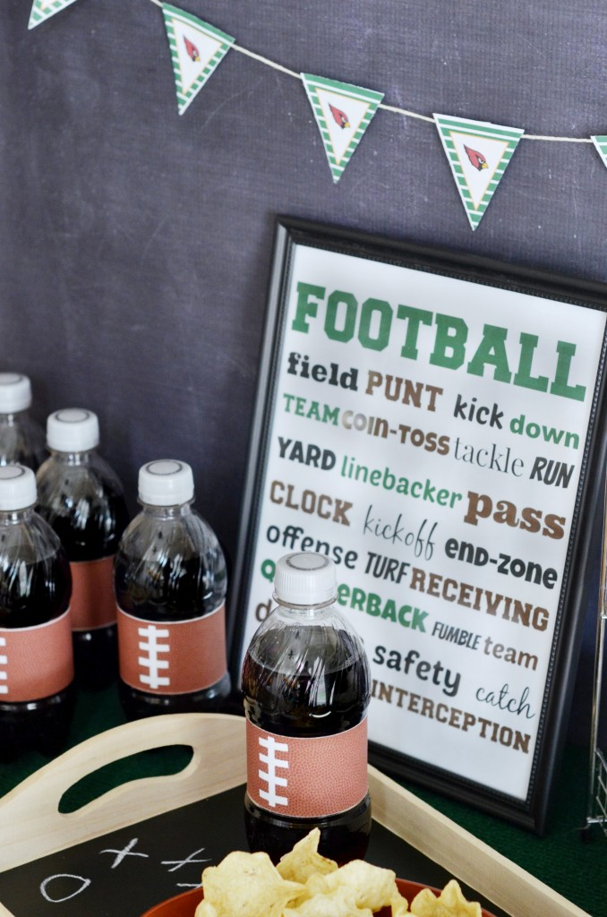 Game Time Football Printable