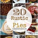 20 Rustic Pies