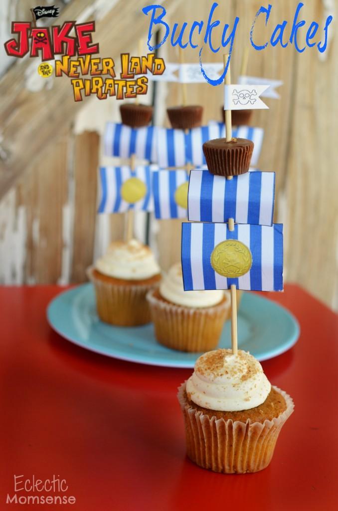 Bucky Cupcakes